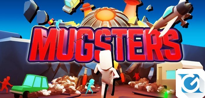 Mugsters e' disponibile per XBOX One, Playstation 4, PC e Nintendo Switch