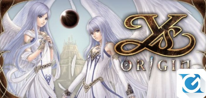 YS Origin e' disponibile per PS Vita