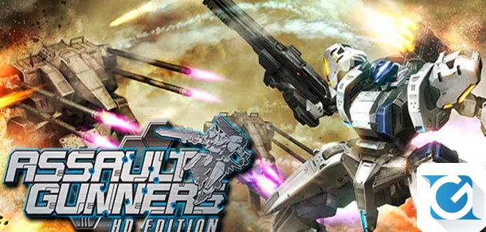 Assault Gunner HD Edition arriva su Switch questa settimana