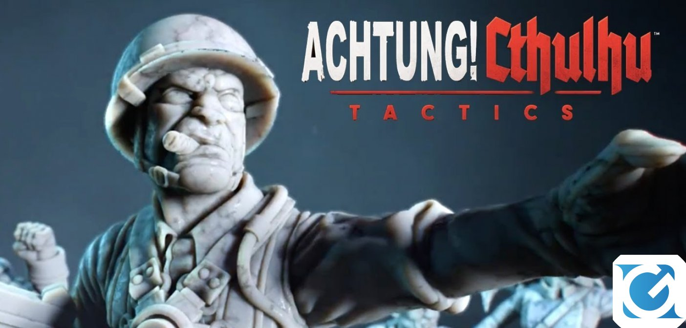Achtung! Cthulhu Tactics e' disponibile su Steam