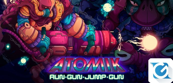 ATOMIK: RunGunJumpGun e' disponibile per Nintendo Switch