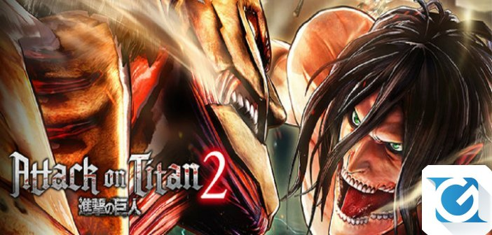 Attack on Titan 2 e' finalmente disponibile