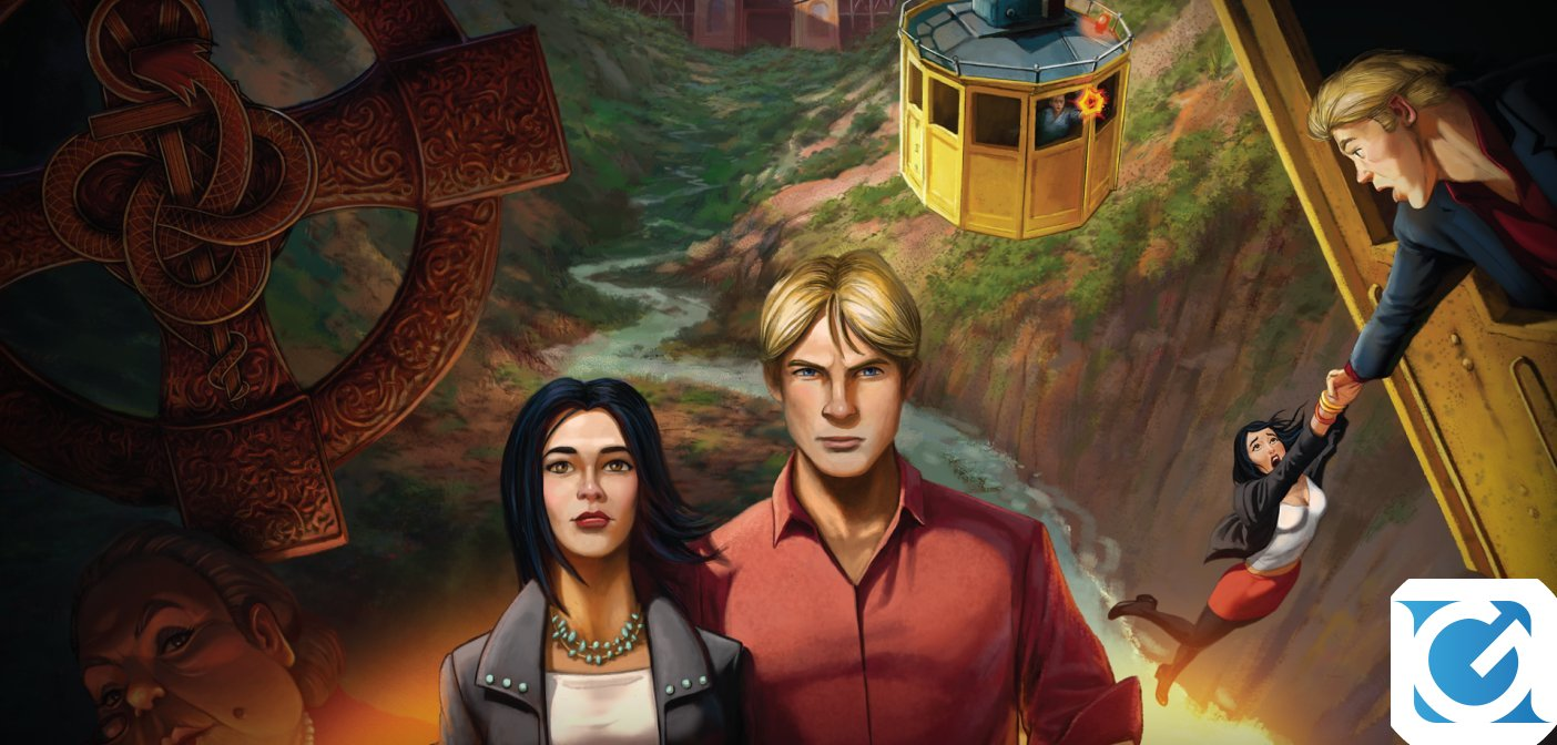 Broken Sword 5 - La Maledizione del Serpente disponibile per Switch