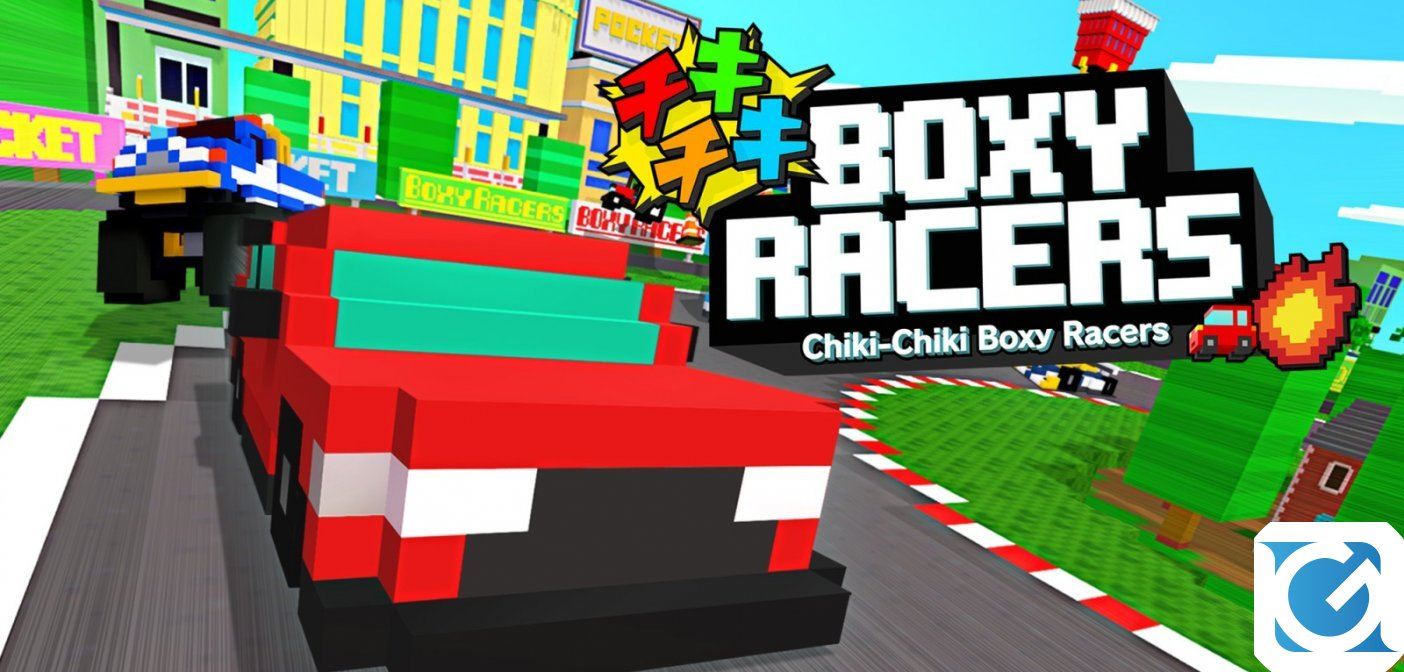 Chik Chiki Boxy Racers disponibile per Nintendo Switch