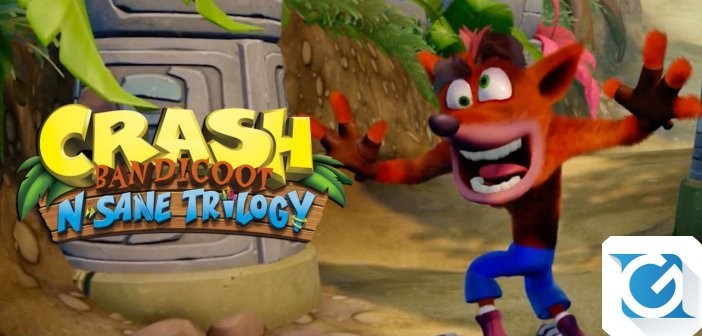 Crash Bandicoot N. Sane Trilogy torna questa estate su Switch, XBOX One e PC