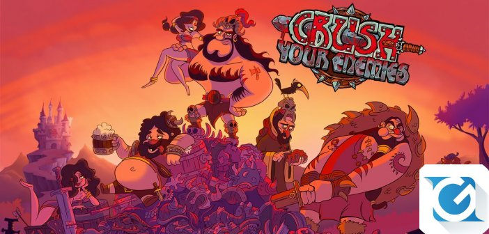 Crush Your Enemies arriva questa estate su Switch!