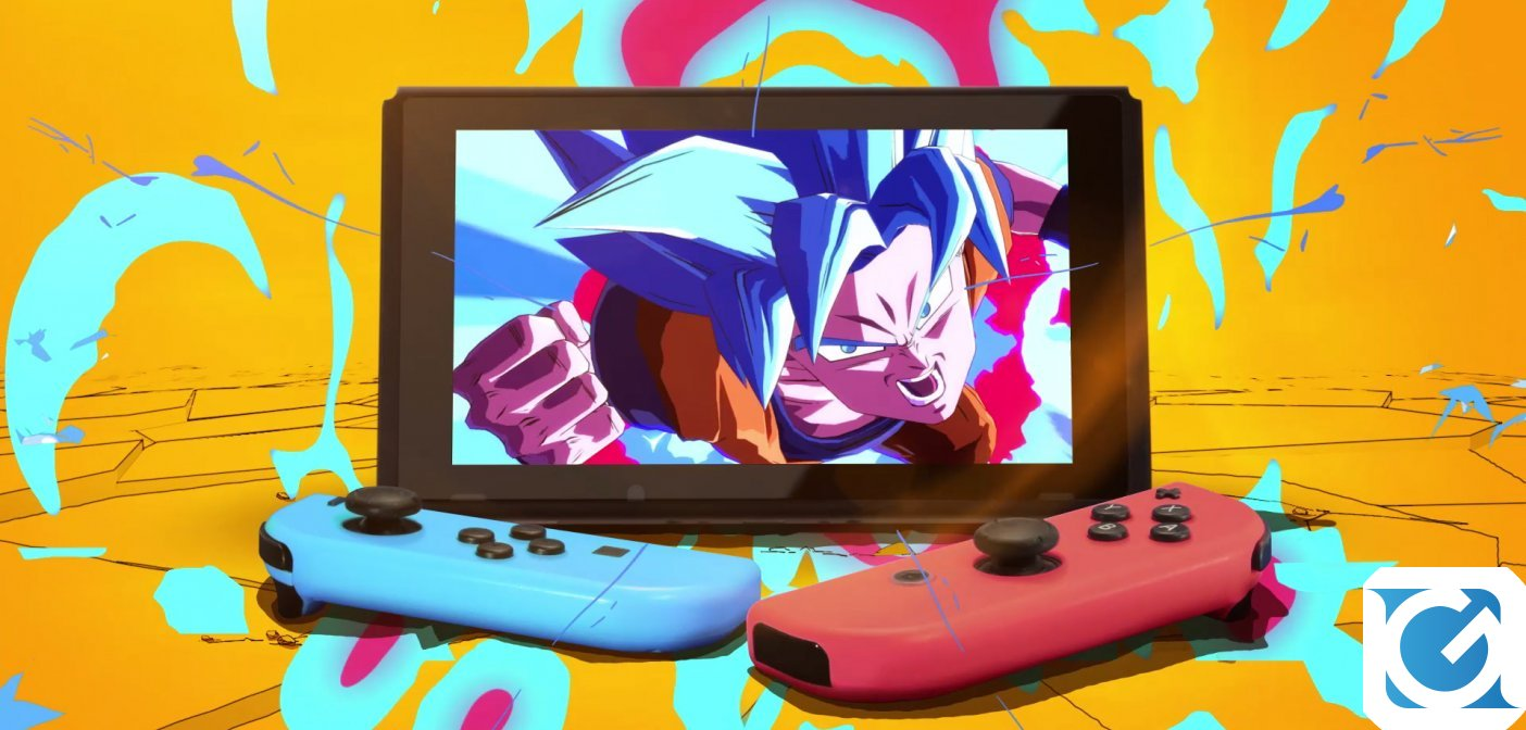 DRAGON BALL FighterZ e' disponibile per Nintendo Switch
