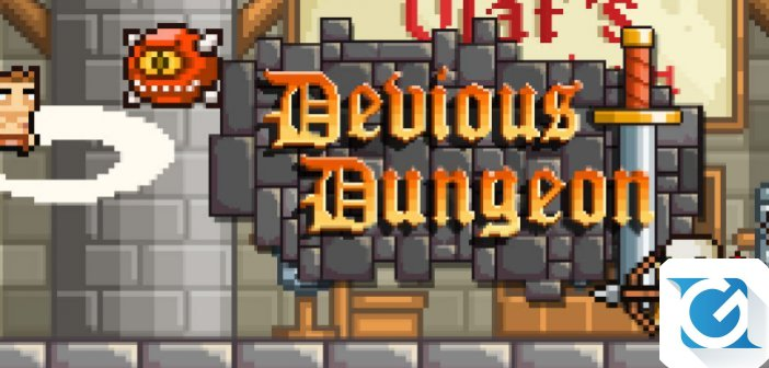 Devious Dungeon arriva su Playstation 4, PS Vita e Nintendo Switch