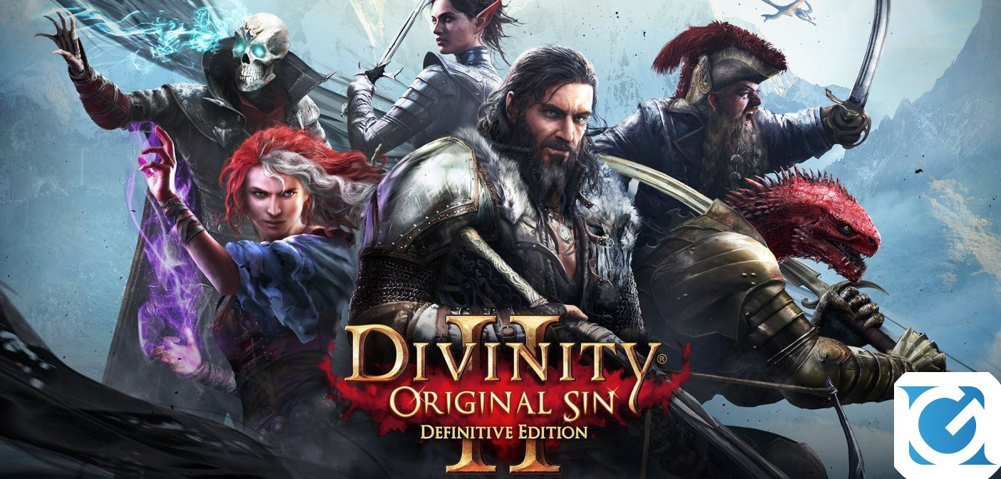 Divinity: Original Sin 2 - Definitive Edition e' disponibile per XBOX One e Playstation 4