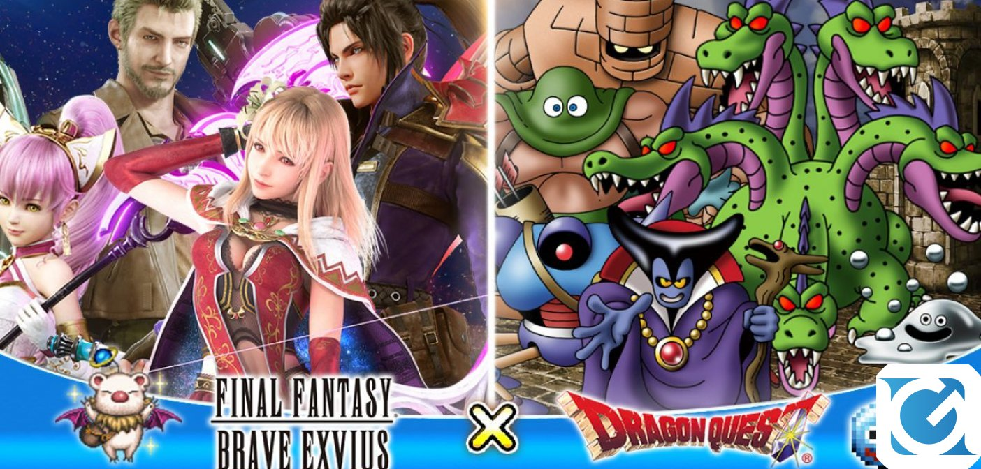 Collaborazione in arrivo: DRAGON QUEST incontra Final Fantasy Brave Exvius