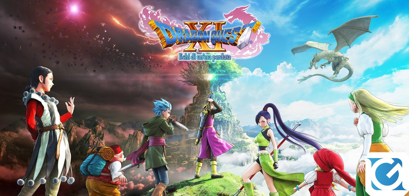 Dragon Quest XI: Echi di un'era perduta, disponibile il prologo