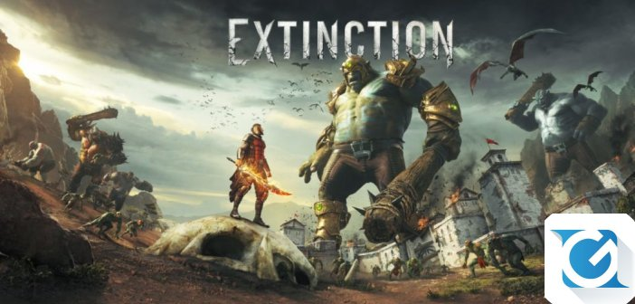 Annunciato Extinction, una nuova IP da Iron Galaxy e Maximum Games