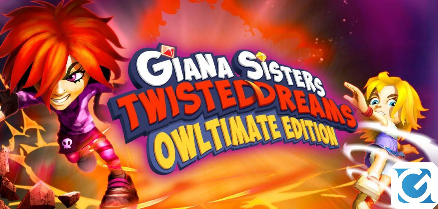 Giana Sisters: Twisted Dreams - Owltimate Edition arriva a settembre su Switch