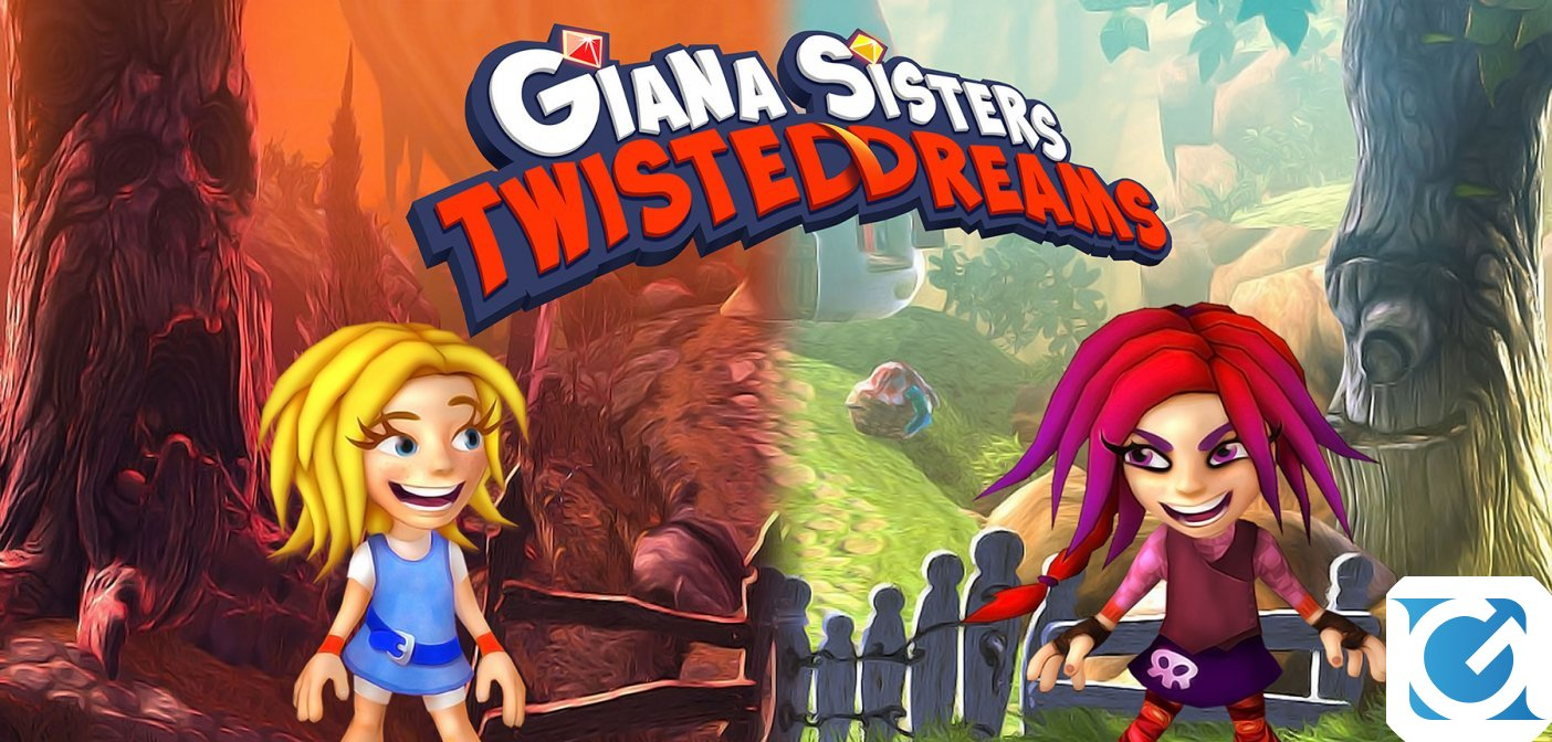 Giana Sisters: Twisted Dreams e' disponibile per Nintendo Switch