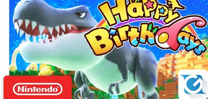 Happy Birthdays arriva su Nintendo Switch l'8 giugno