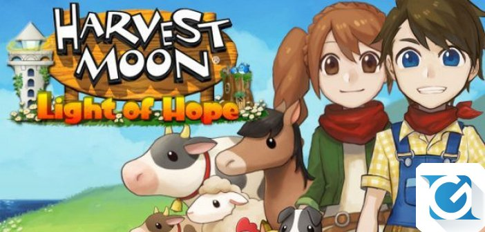 Harvest Moon: Light of Hope Special Edition e' disponibile da oggi