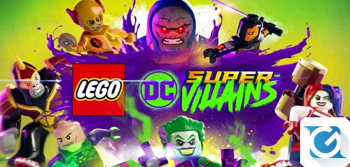 Warner Bros annuncia LEGO DC Super-Villains