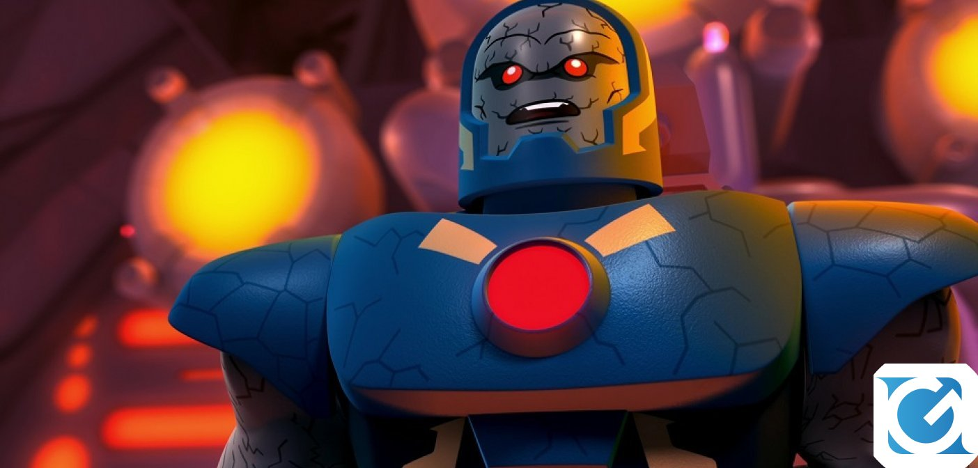 LEGO DC Super-Villains: Nuovo video dedicato a Darkseid