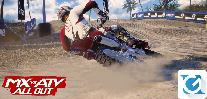 MX vs ATV All Out e' disponibile per XBOX One, Playstation 4 e PC
