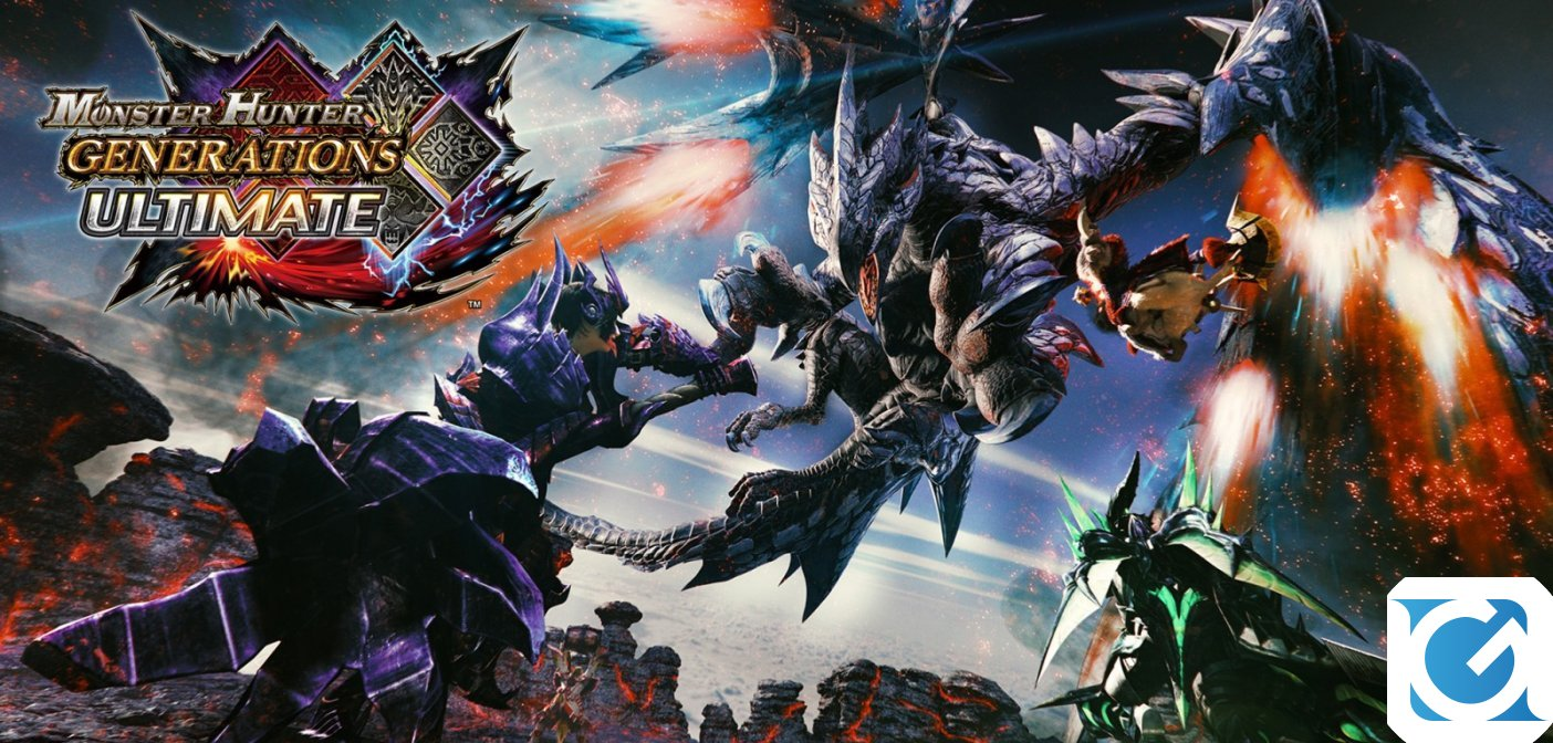 Monster Hunter Generations Ultimate e' disponibile per Nintendo Switch