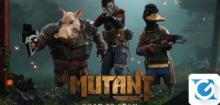 Mutant Year Zero: Road to Eden: nuovo trailer disponibile