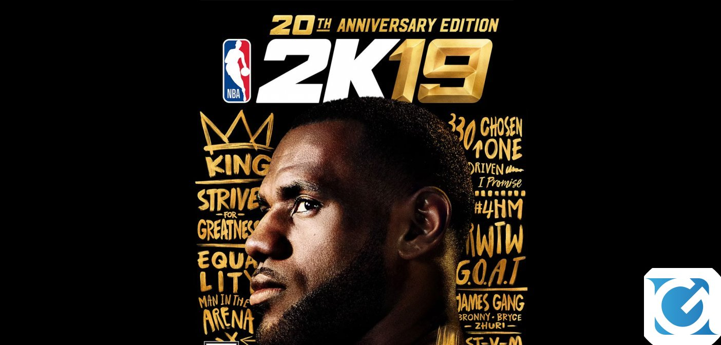 NBA 2K19: LeBron James protagonista del nuovo trailer