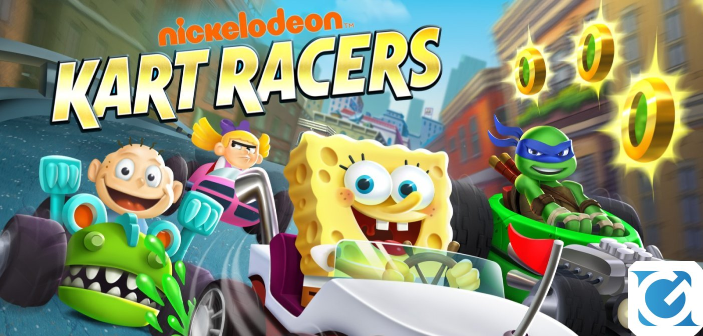 Nickelodeon Kart Racers entra in fase gold