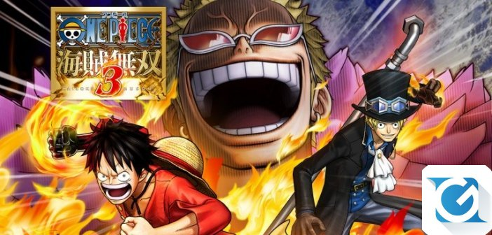 ONE PIECE: PIRATE WARRIORS 3 DELUXE EDITION e' stato annunciato per Nintendo Switch