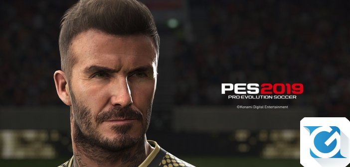 PES 2019: disponibile nuovo video dietro le quinte con David Beckham