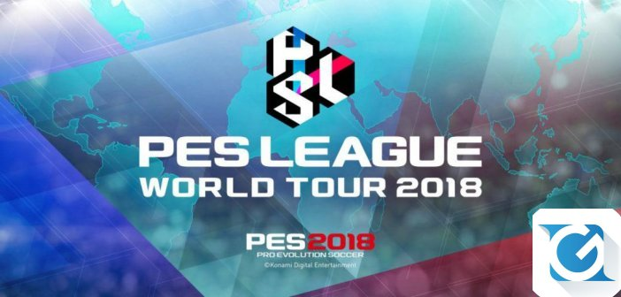 Tenetevi pronti, questo week end si disputera' la Finale Europea di PES League World Tour 2018