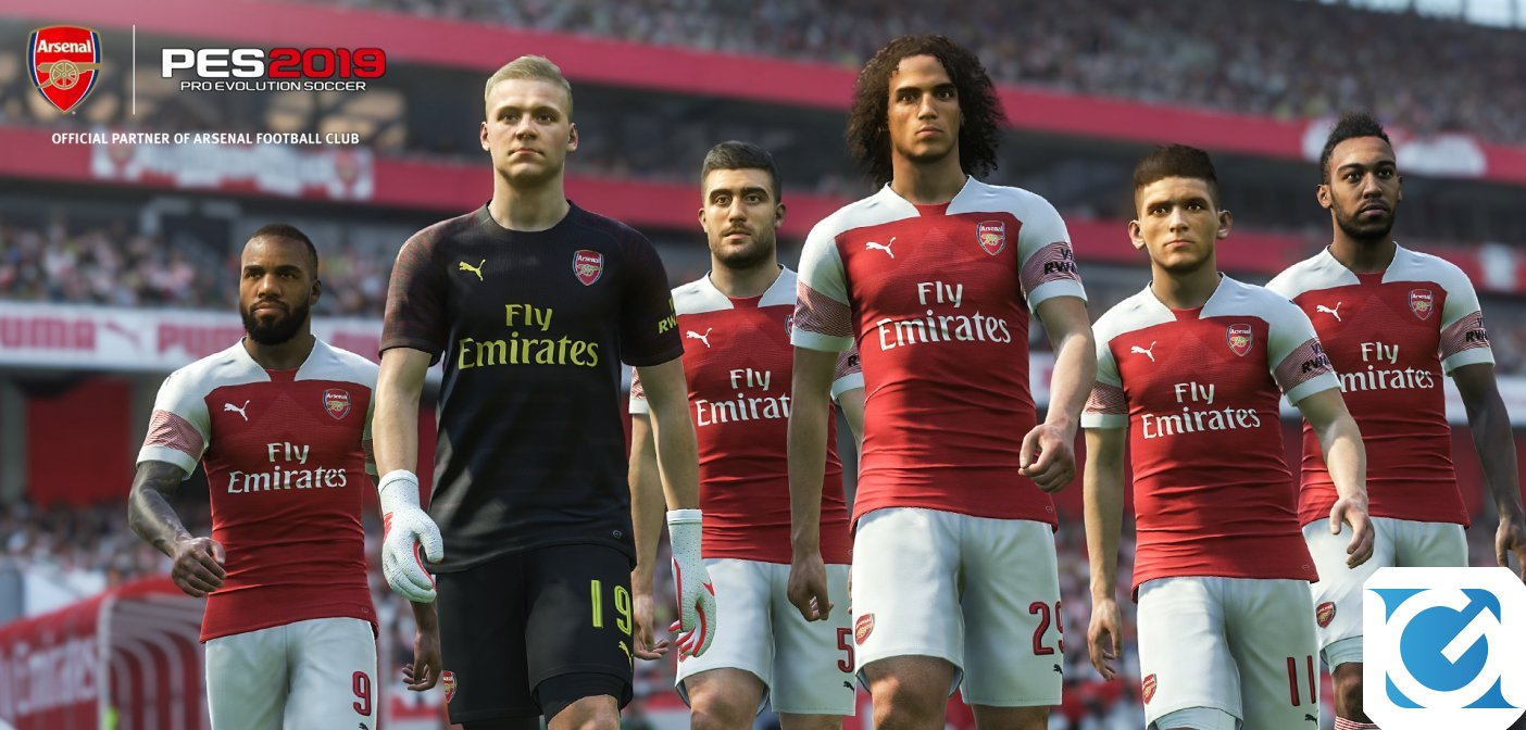 KONAMI prolunga la partnership con l'Arsenal