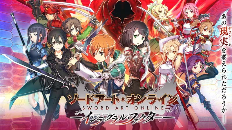 SWORD ART ONLINE: Integral Factor al via le pre-registrazioni!