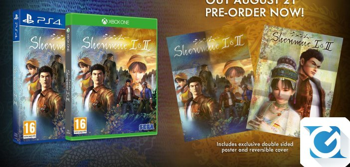 Shenmue I & II disponibile al preorder per XBOX One, Playstation 4 e PC!