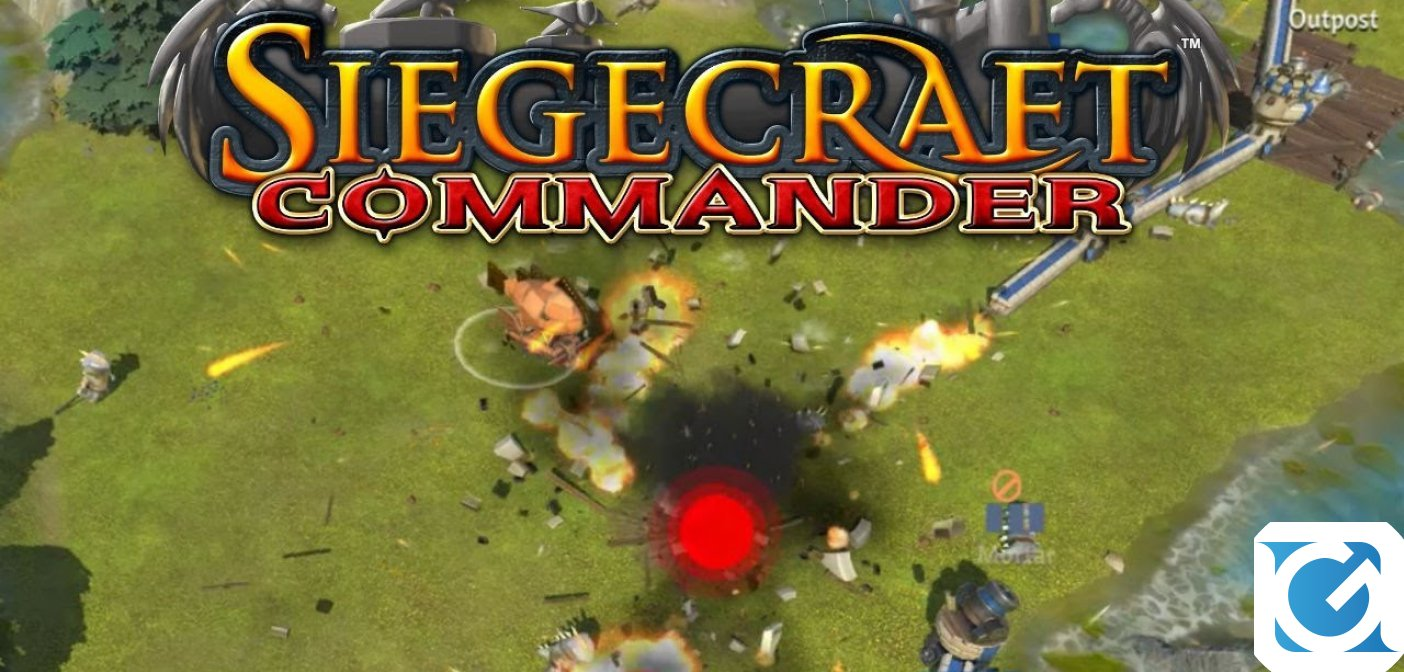 Siegecraft Commander e' pronto a lanciarvi nel combattimento su Switch!