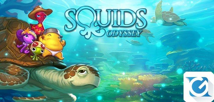 Squids Odyssey e' disponibile per Nintendo Switch