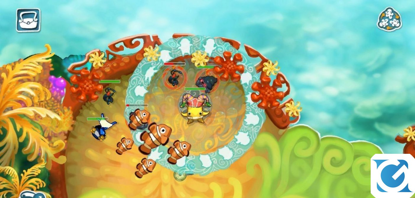 Squids Odyssey e' disponibile su Steam