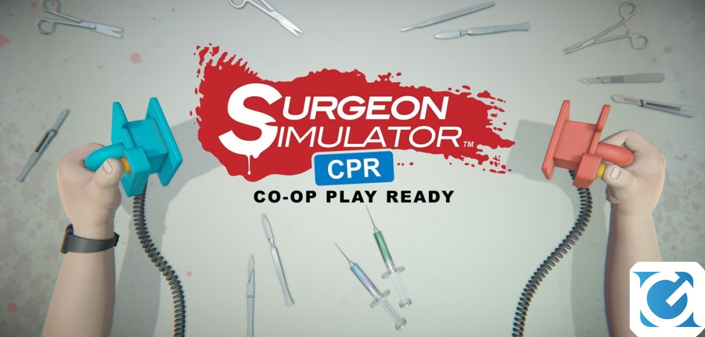 Surgeon Simulator CPR e' disponibile per Nintendo Switch