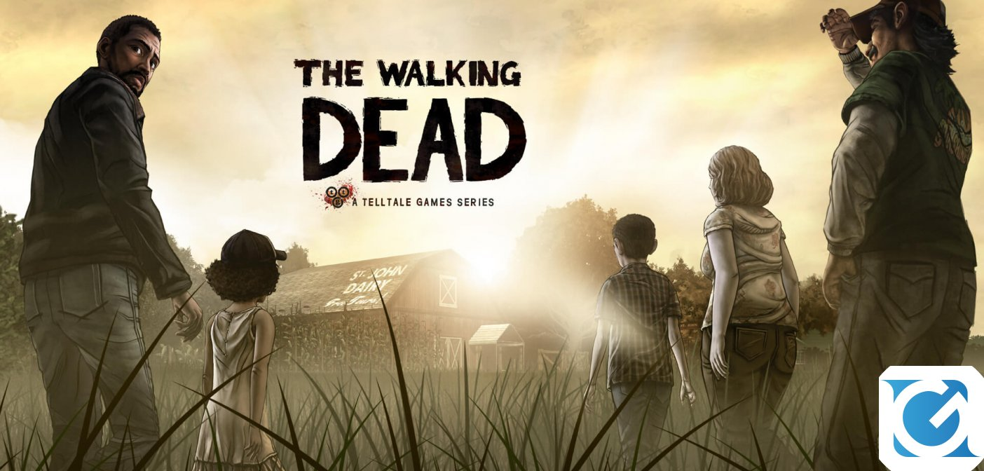 The Walking Dead: The Complete First Season e' disponibile per Nintendo Switch