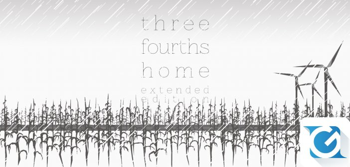 Three Fourths Home: Extended Edition arriva su Nintendo Switch a maggio