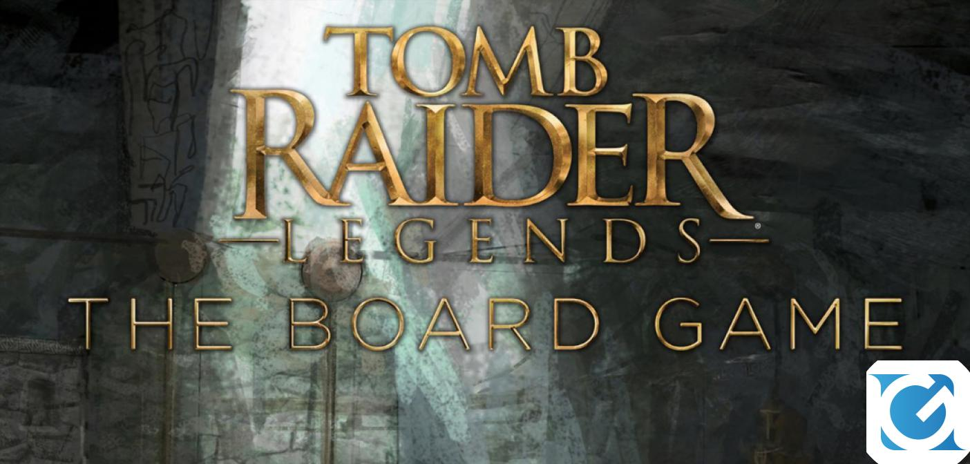 Annunciato Tomb Raider Legends: The Board Game