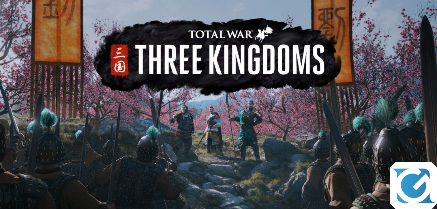 Rivelata la data d'uscita di Total War: THREE KINGDOMS