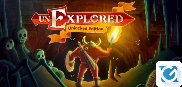 Unexplored: Unlocked Edition arriva ad agosto su Nintendo Switch