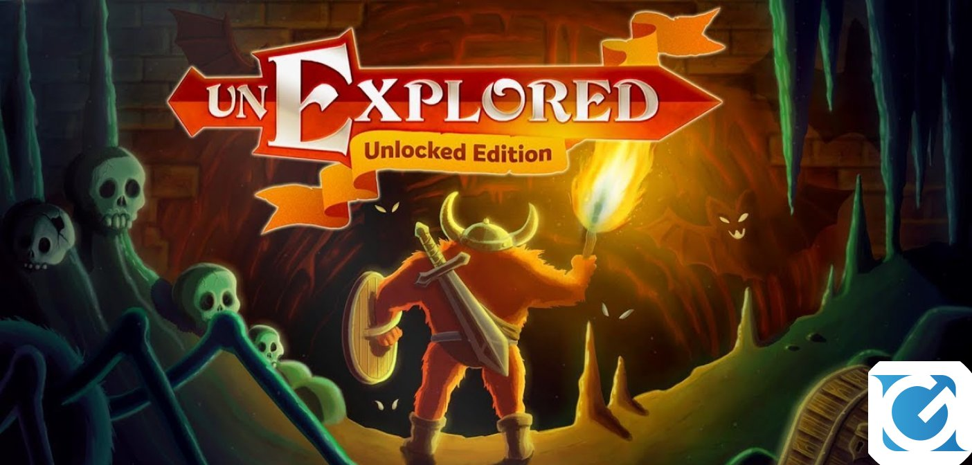 Unexplored Unlocked edition e' disponibile su Nintendo Switch