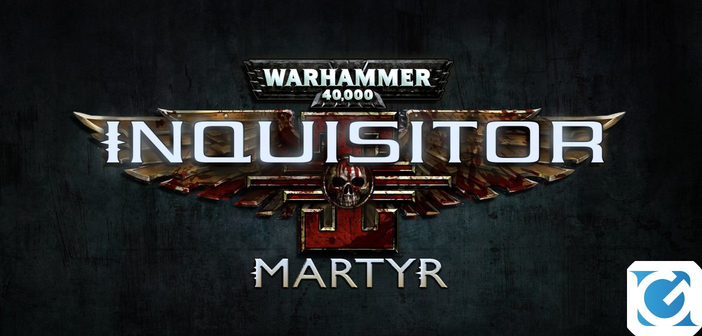 Warhammer 40,000: Inquisitor - Marty e' disponibile per XBOX One e Playstation 4