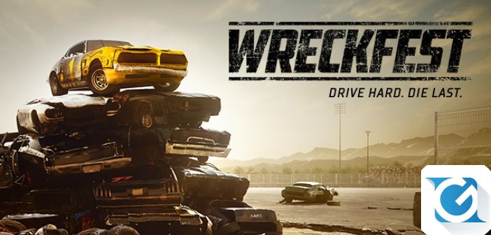 Wreckfest: disponibile un nuovo trailer