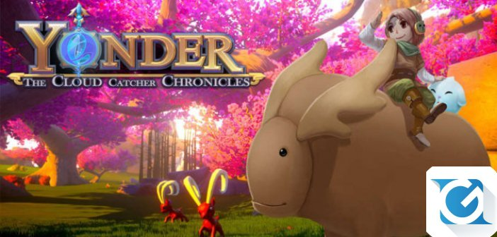 Yonder: The Cloud Catcher Chronicles arrivera' su Nintendo Switch ecco il trailer!