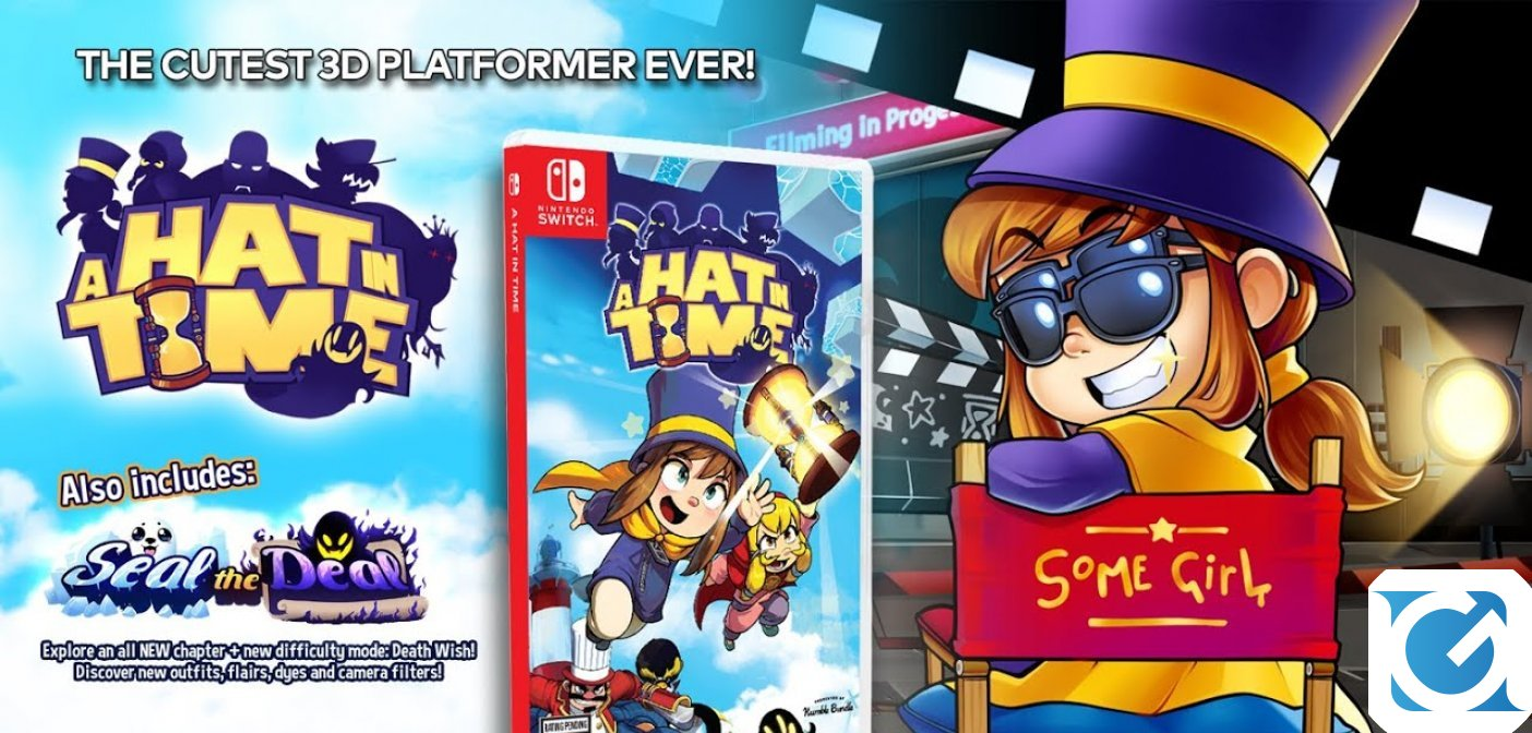 Il platform 3D A Hat in Time in arrivo ad ottobre su Switch