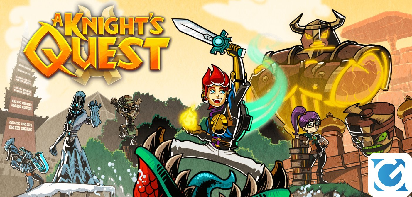 A Knight's Quest arriva su PC e console in autunno
