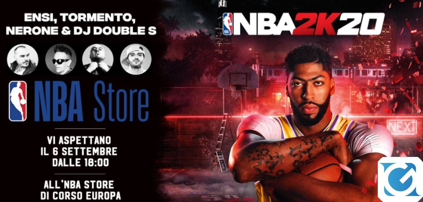 A Milano arriverà la NBA 2K20 Rap Battle event