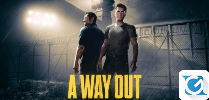 A Way Out e' disponibile per XBOX One, Playstation 4 e PC